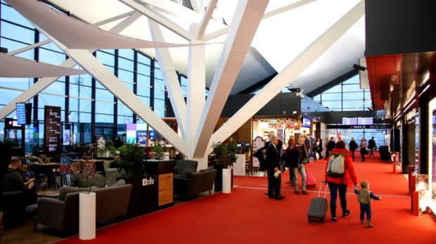 Lotnisko Gdańsk. Nowa strefa odlotów już otwarta