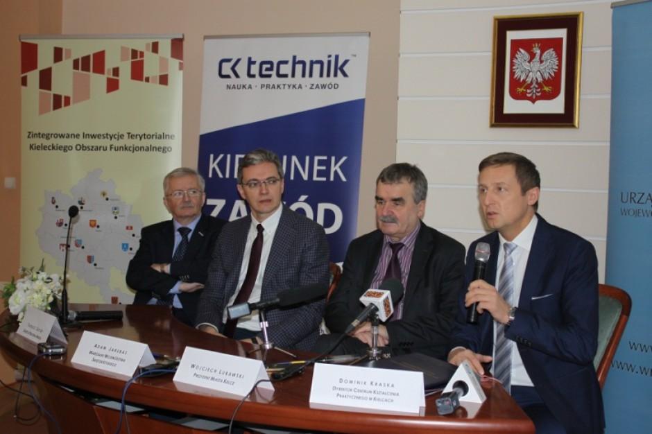 Kielce. 30 mln zł z UE na budowę Centrum Kształcenia Praktycznego