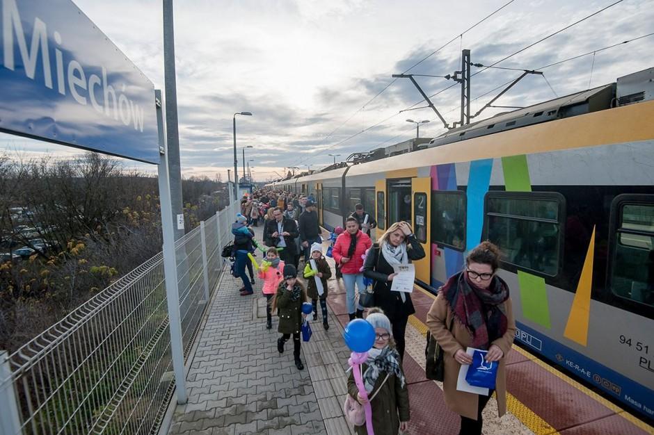 Szybka Kolej Aglomeracyjna wraca na trasę do Miechowa