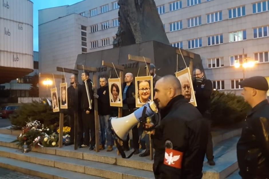 Wizerunki europosłów na szubienicach: Katowicka prokuratura wszczęła śledztwo
