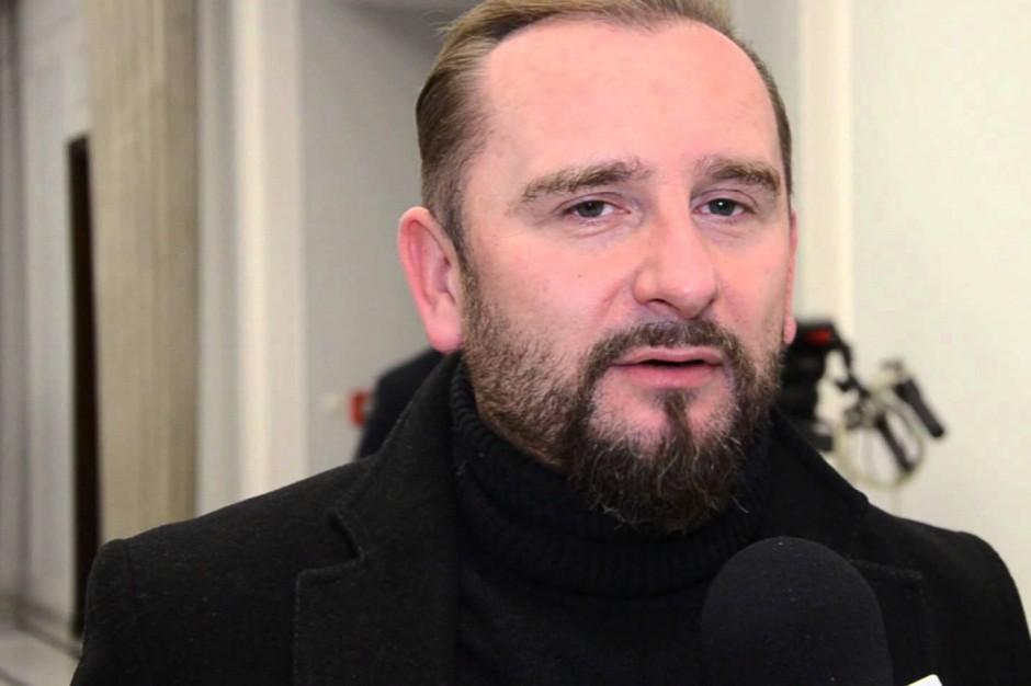 Piotr Liroy-Marzec i Bezpartyjni przeciwko zmianom w kodeksie wyborczym