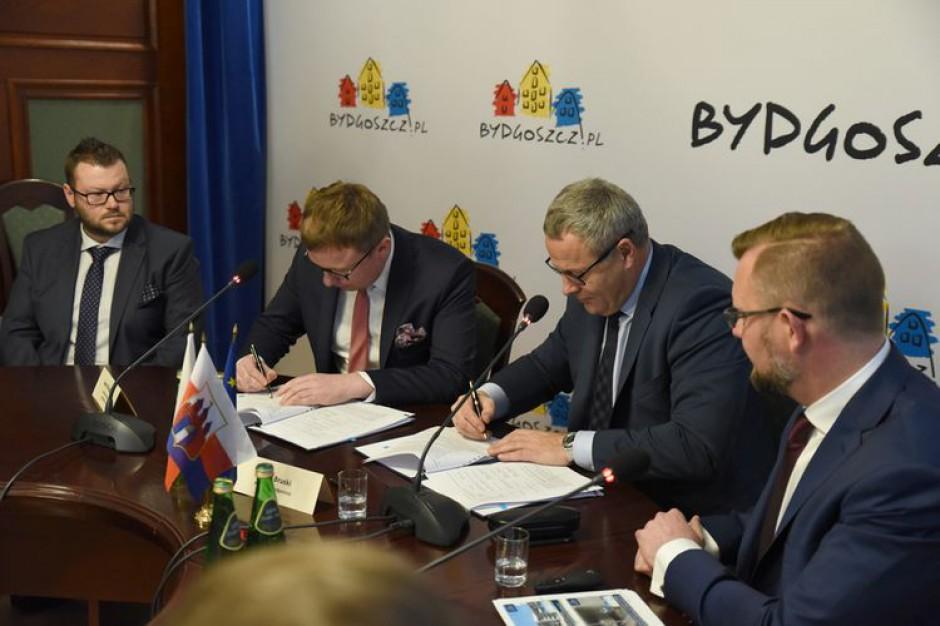 Bydgoszcz: Podpisano umowę na rozbudowę Grunwaldzkiej