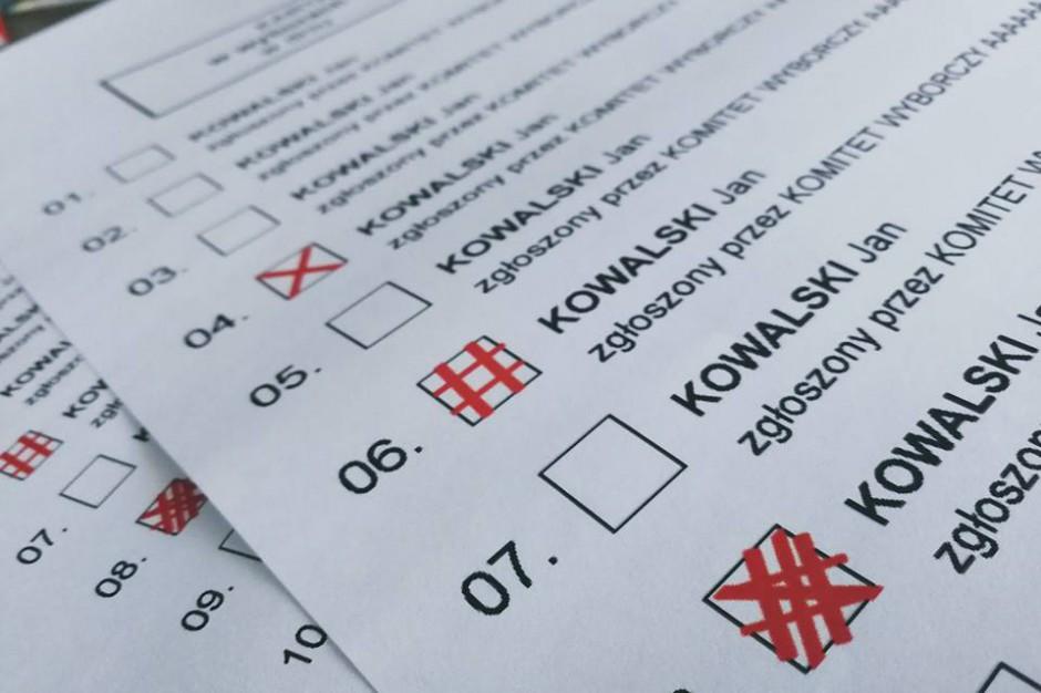 """Nowa definicja """"X"""" na karcie wyborczej skrytykowana przez KBW"""