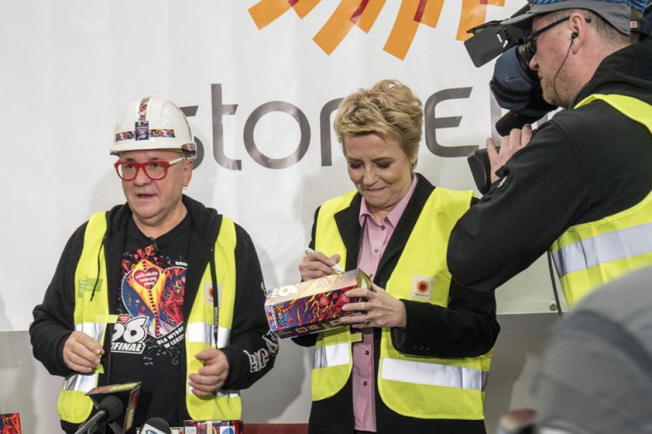 W Łodzi rozpoczęto produkcję skarbonek na 26. Finał WOŚP