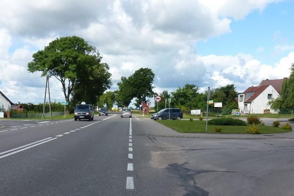 Pomorskie: Zakończono przebudowę drogi w centrum Sztumu