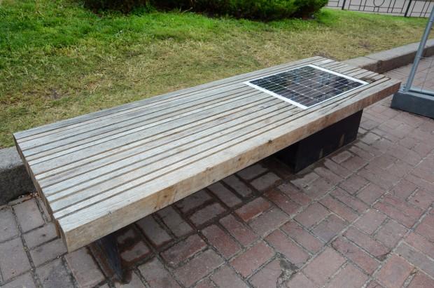 Mazowieckie: w Gostyninie i okolicznych gminach sieć ławek fotowoltaicznych