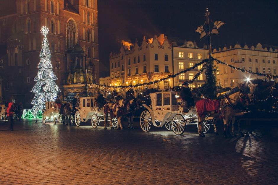 Kraków. Spłonęło stoisko na targach świątecznych