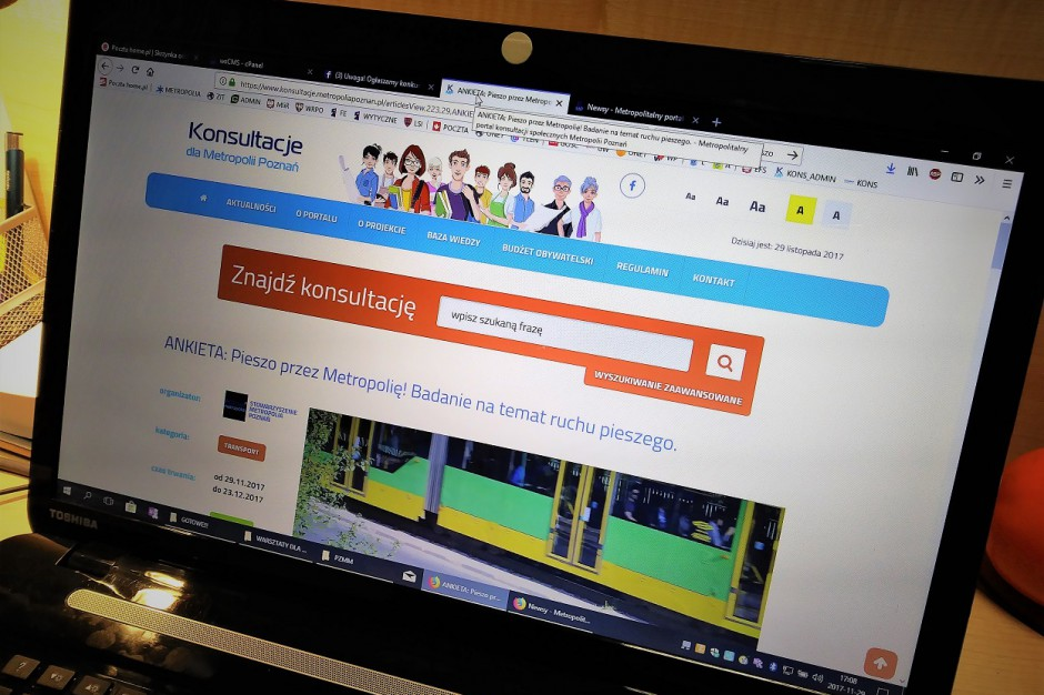 Wielkopolskie: Powstał pierwszy metropolitalny portal konsultacji społecznych