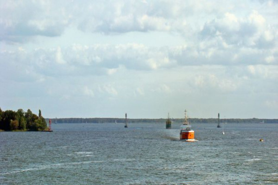 Będą pieniądze na pogłębienie toru wodnego Szczecin-Świnoujście