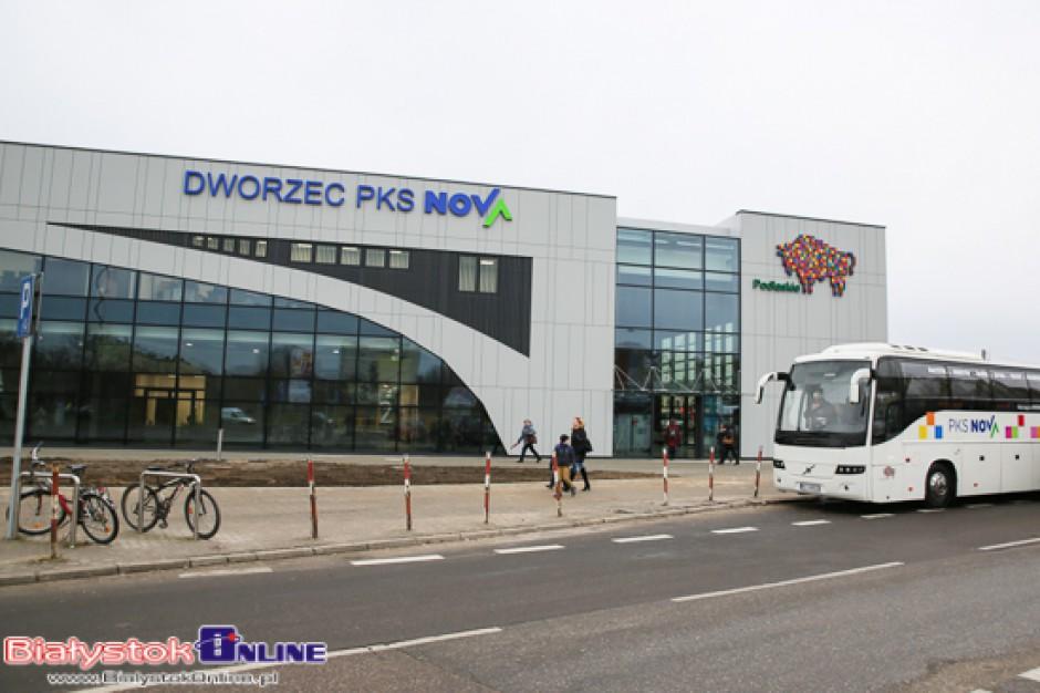 Białystok. Ponad 13,6 mln zł kosztowała budowa nowego dworca PKS Nova