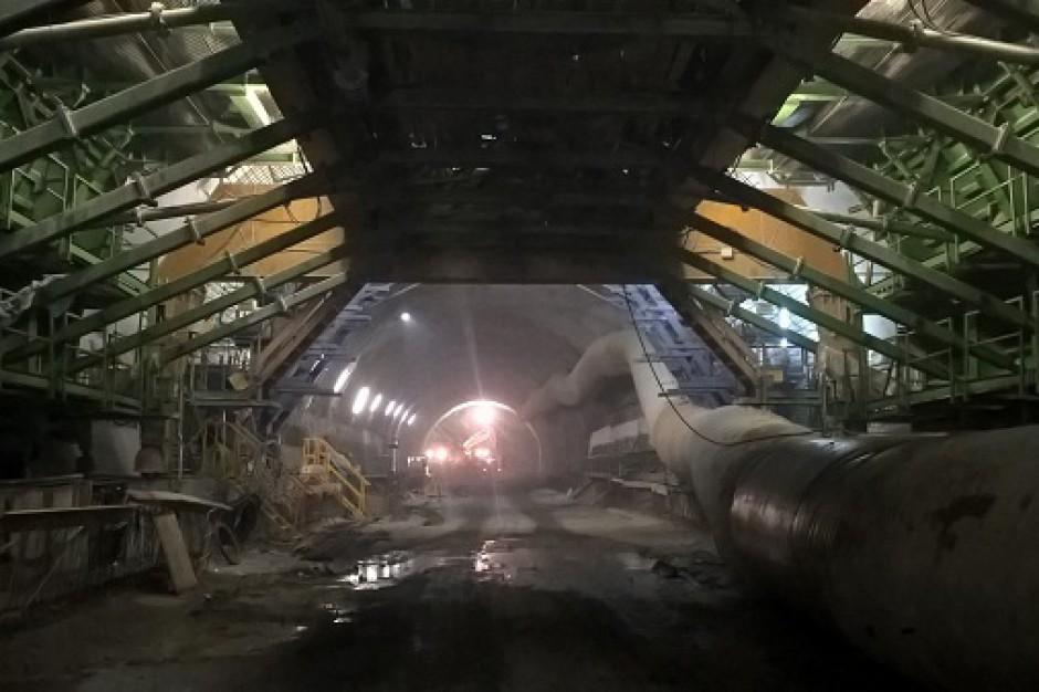 Odcinek Naprawa – Skomielna Biała będzie miał długość 3 km, z czego 2,06 km będzie przebiegać w dwukomorowym tunelu. (fot. MR)