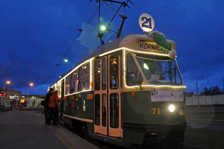 Świąteczny tramwaj ruszy w Poznań