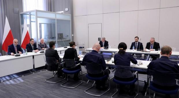 Posiedzenie zespołu ds. współpracy ze strażami gminnymi (fot.mswia.gov.pl)