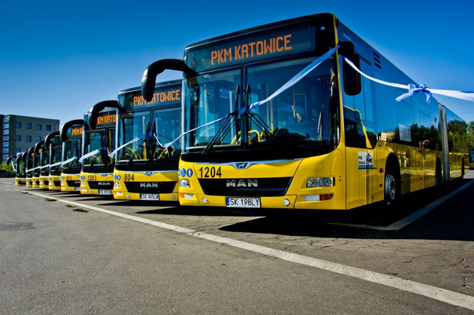 Przedsiębiorstwo Komunikacji Miejskiej w Katowicach odebrało nowe autobusy