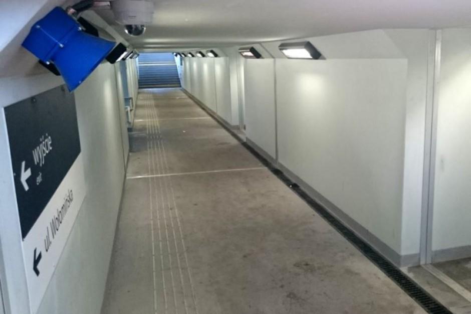 Podlaskie: Pasażerowie kolei mogą korzystać z kolejnych przejść podziemnych