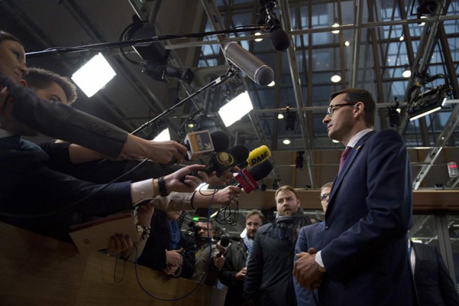 Mateusz Morawiecki o zmianach ordynacji wyborczej: Nie mamy złych intencji