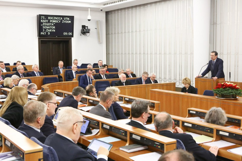 Senackie komisje za zmianami w Kodeksie wyborczym z poprawkami