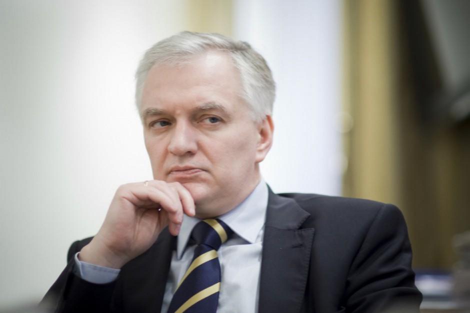 Jarosław Gowin: wiemy, że wybory samorządowe w dużych miastach będą dla Zjednoczonej Prawicy trudne