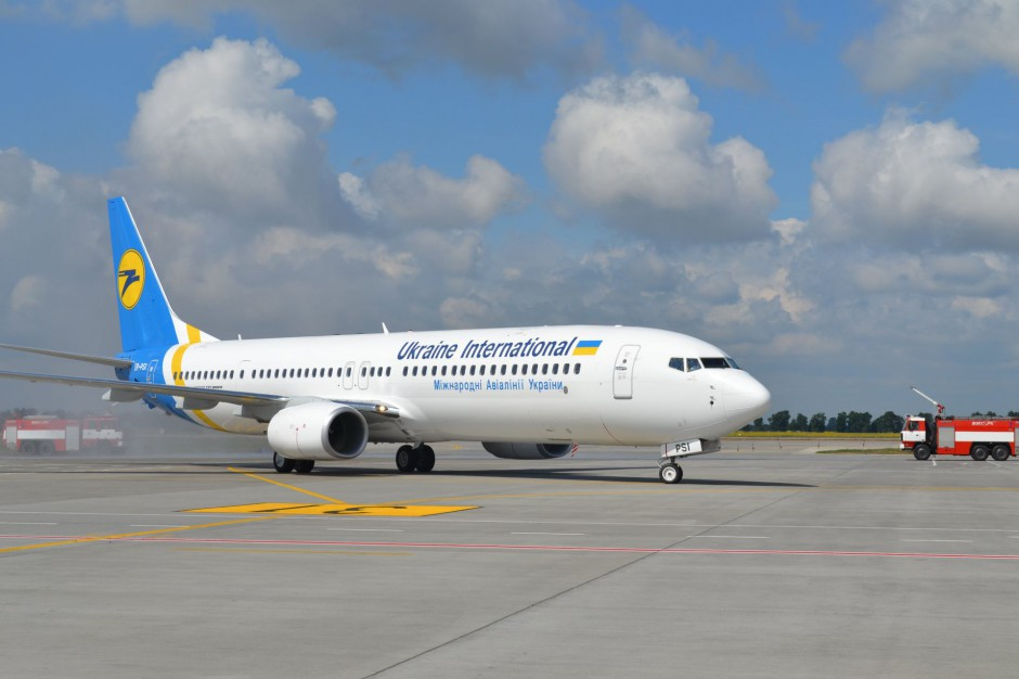 Ukraine International Airlines uruchomiło połączenie Krakowa z Kijowem