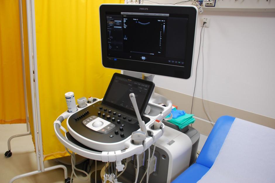 Wrocław. Miasto przekazało klinice położniczej aparat USG