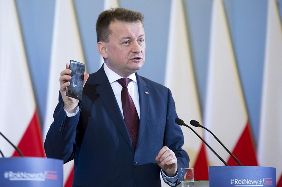 Mariusz Błaszczak złożył obietnicę ws. wyznaczania komisarzy wyborczych