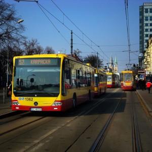 Łódź na wydatki bieżące w lokalny transport zbiorowy w tym roku przeznaczy 420,3 mln zł (411,3 mln zł jako gmina i 9 mln zł na mocy porozumień międzygminnych). W porównaniu do zeszłorocznego budżetu oznacza to wzrost wydatków na ten cel o ok. 10 mln zł. Fot. mat. UM Łódź