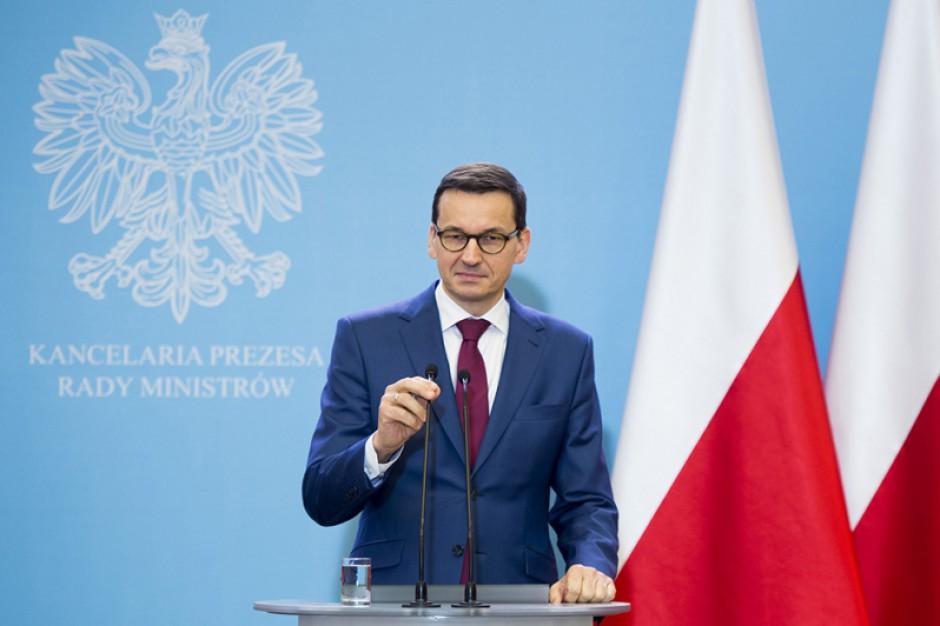 Premier: Nie ma ważniejszego wyzwania niż przywracanie polskim rodzinom godnego życia
