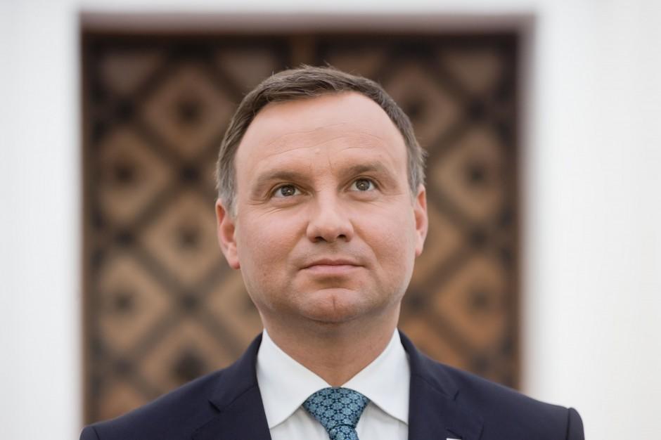 Prezydent: budowa Parku Niepodległości to wielkie, doniosłe wyzwanie