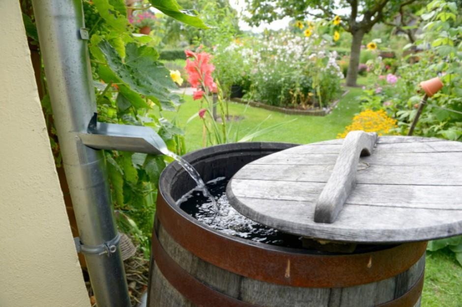 Wody opadowe. Nowe prawo wodne sprawi, że zapłacimy za deszczówkę