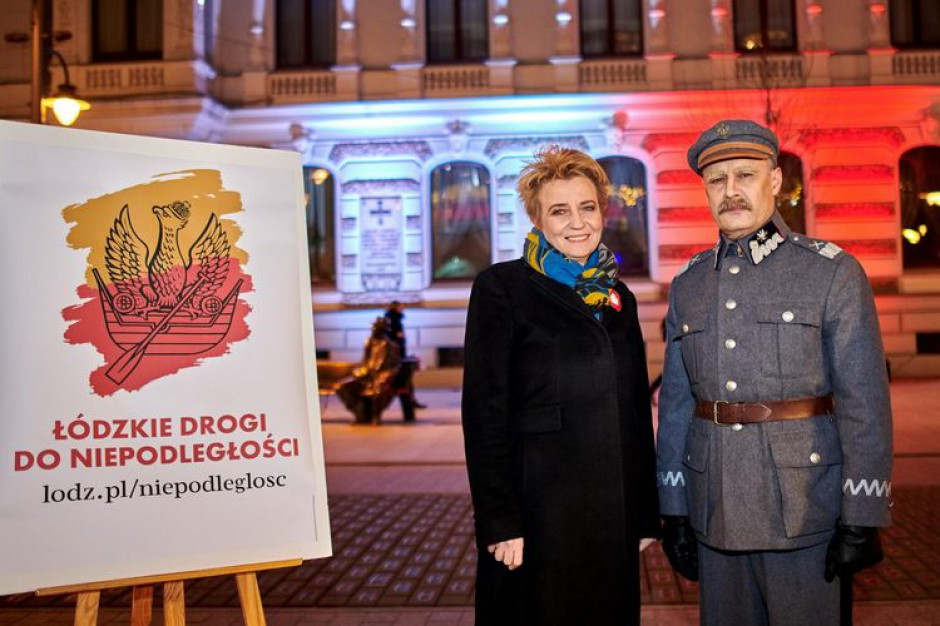 Łódź rozpoczęła obchody 100-lecia odzyskania niepodległości przez Polskę