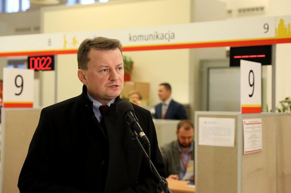 Mariusz Błaszczak: na kształt rekonstrukcji rządu duży wpływ miał Andrzej Duda
