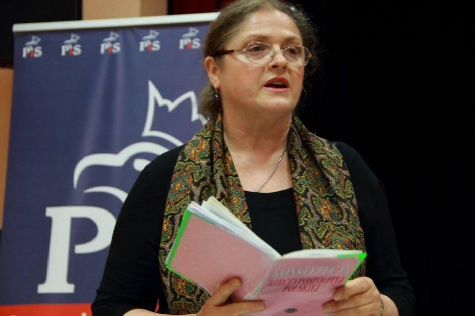 Krystyna Pawłowicz krytykuje wprowadzenie opłat w centrach miast