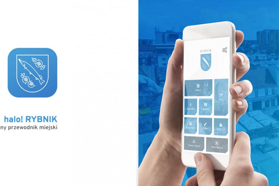 Rybnik wypuszcza aplikację mobilną z myślą o mieszkańcach i turystach