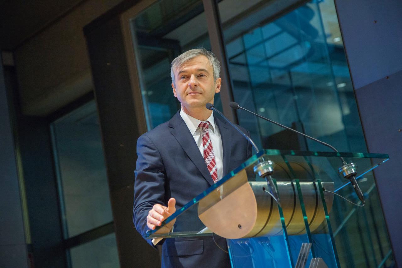 Bartłomiej Pawlak, członek zarządu Polskiego Funduszu Rozwoju ds. finansowych i rozwoju fot. PTWP (Piotr Waniorek)