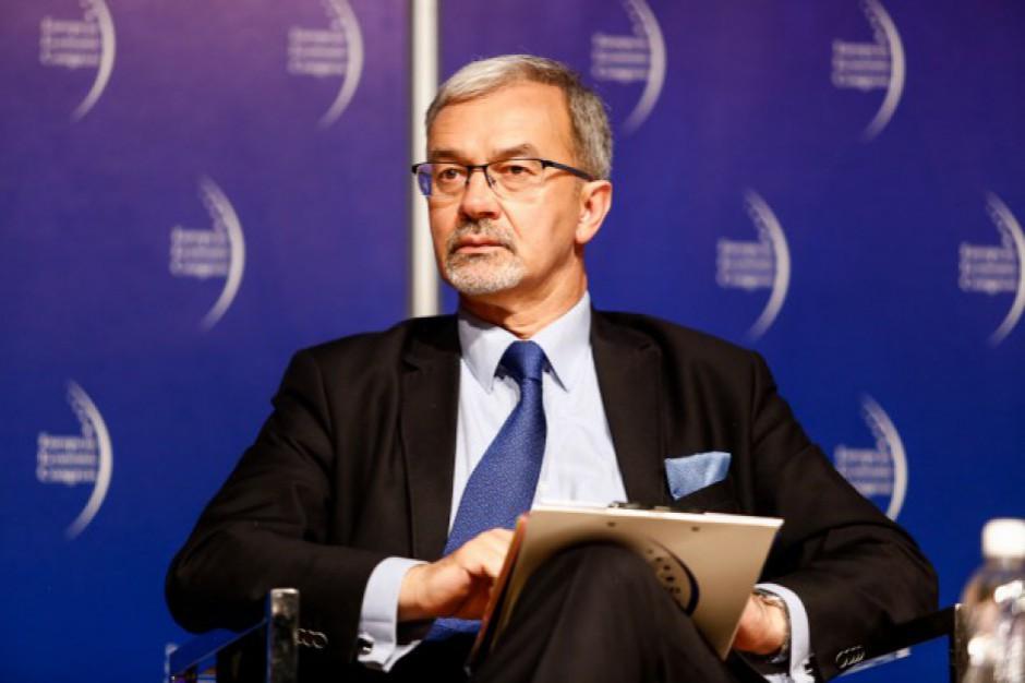 Jerzy Kwieciński: Chcemy skupić się na pobudzeniu inwestycji samorządowych