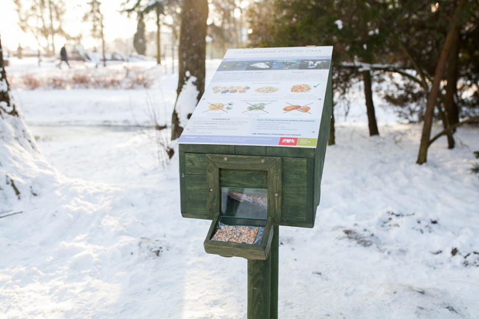 Gdańsk napełnia kaczkomaty, by ptaki nie musiały jeść chleba