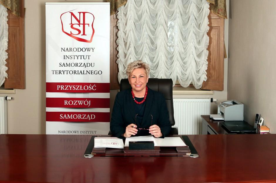 Iwona Wieczorek: Co robi Narodowy Instytut Samorządu Terytorialnego