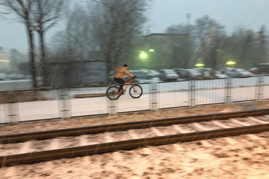 Kraków sprawdził - zima rowerzystom niestraszna