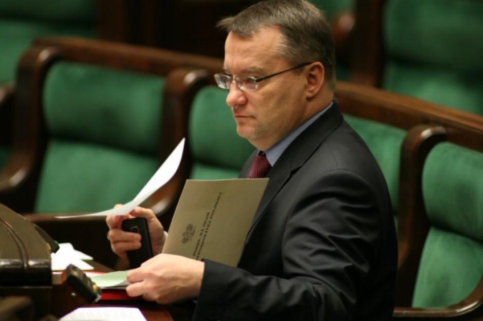 Marek Biernacki do wyborów samorządowych pozostanie posłem niezależnym