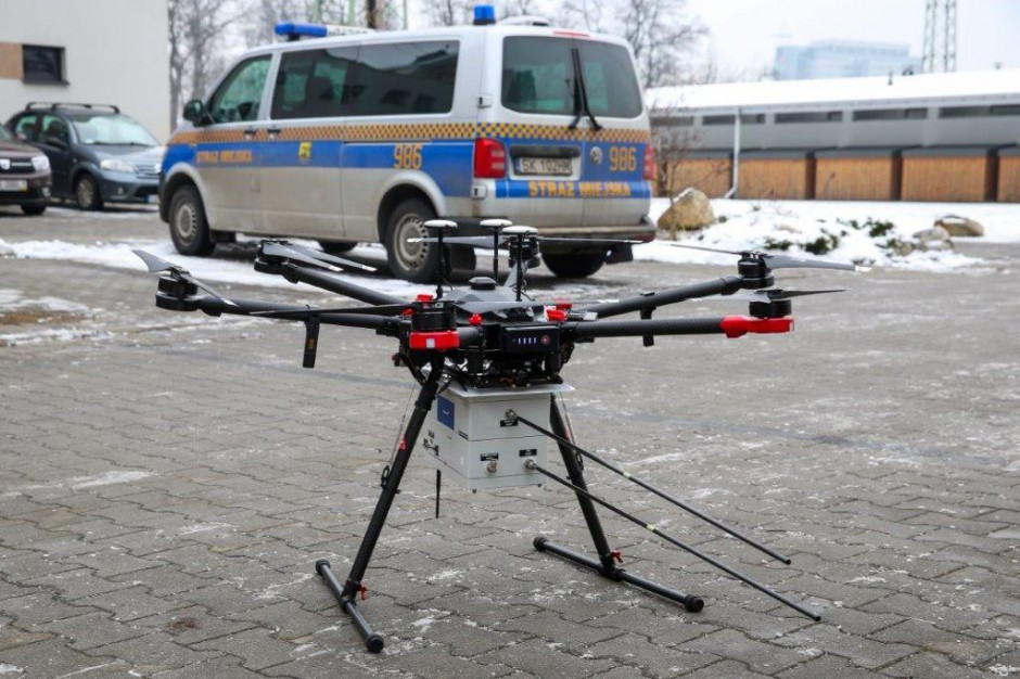 Dron pomoże walczyć ze smogiem w Katowicach