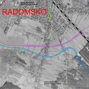 Łódzkie     Obwodnica Radomska. Drogi krajowe nr 42/91, długość 11,3 km, planowane otwarcie w lipcu 2027 r.   Na ilustracji obwodnica Radomska. Fot. GDDKiA
