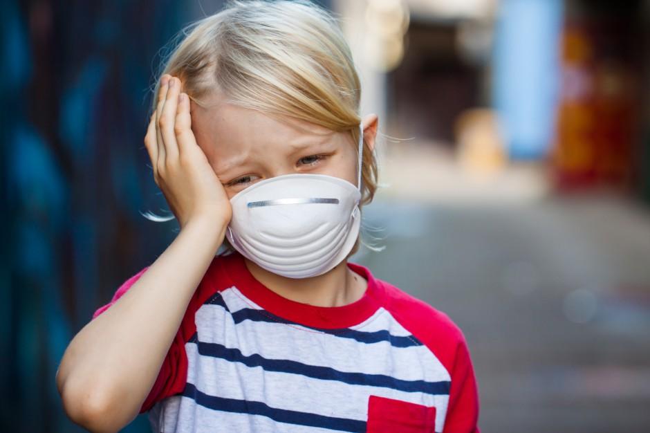 Smog szkodzi szczególnie dzieciom