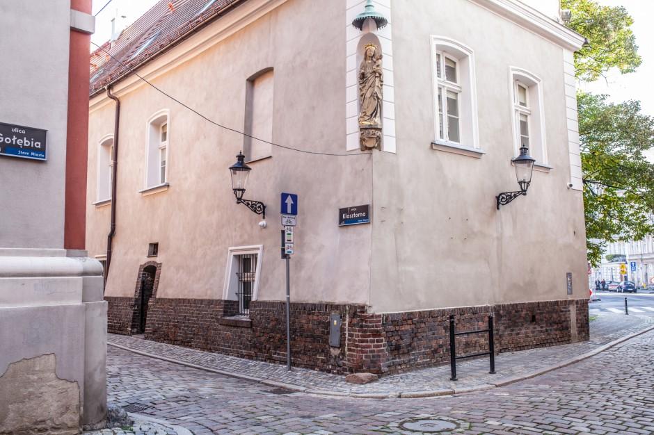 Ewakuacja kamienicy w centrum Poznania