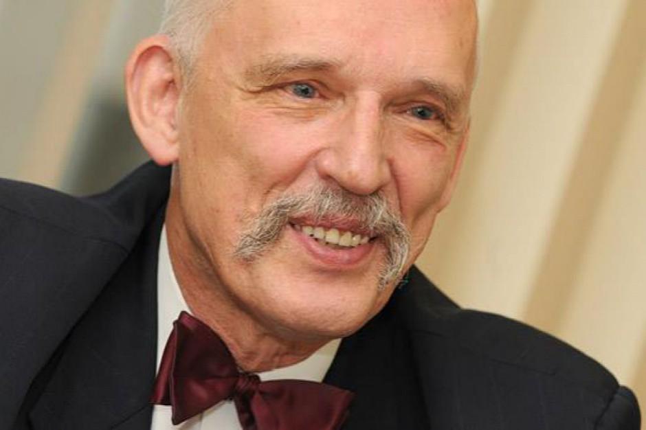 Janusz Korwin-Mikke: myślę, że wystartuję w wyborach na prezydenta Warszawy
