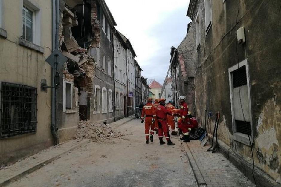 Zakończyła się akcja ratunkowa po zawaleniu domu w Mirsku