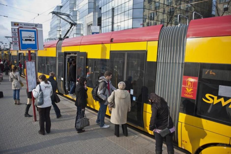 Warszawa: Wypadek trzech tramwajów. Są ranni