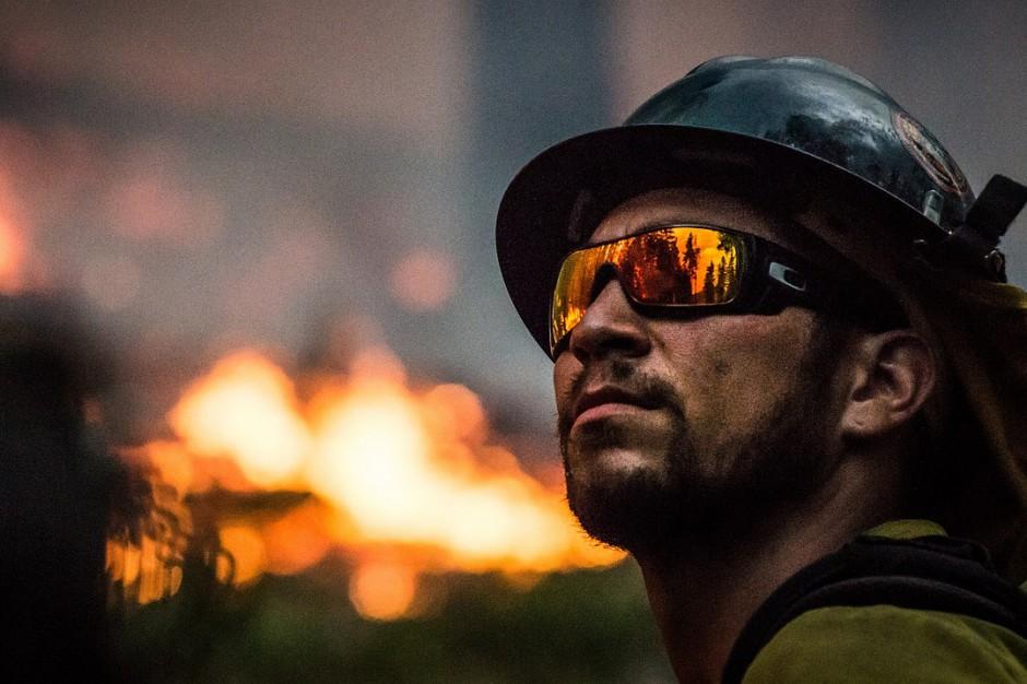 Pożar domu w Toruniu: Jedna osoba nie żyje