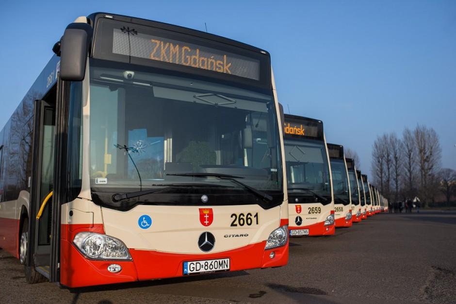 Gdańsk chce kupić 46 nowych autobusów