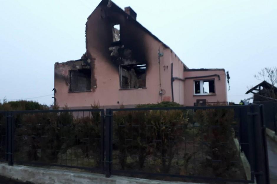 Pożar w w Murowanej Goślinie: Jest śledztwo ws. awarii gazociągu