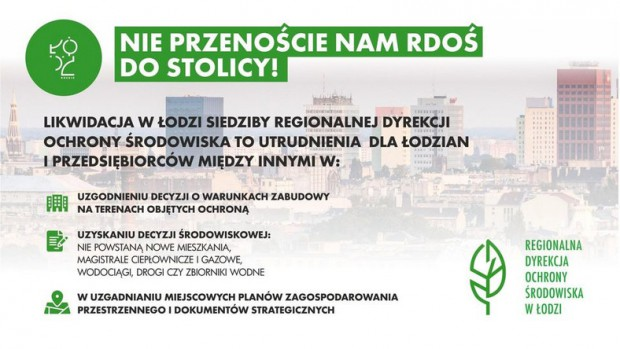 W Łodzi protestują przeciwko zmianom (fot.lodz.pl)